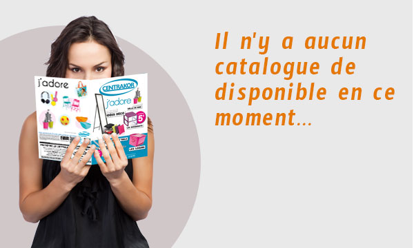 catalogue non disponible